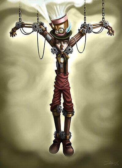 Steam Punk Pinocchio by Tom Bradnam