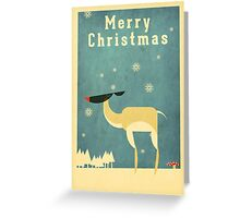 Reindeer 5 Greeting Card