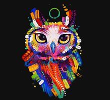 Owl - Black Background Tank Top