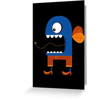 Blue Fly Snack Greeting Card