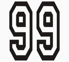 99, TEAM, SPORTS, NUMBER 99, Ninety Nine, Competition by TOM HILL - Designer
