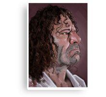 Kurt Ossiander Digital Portrait Canvas Print