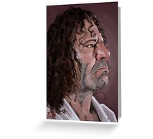 Kurt Ossiander Digital Portrait Greeting Card