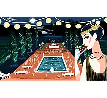 A Great Gatsby Party Photographic Print