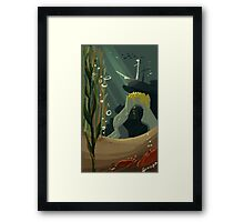 Mysterious Sea Framed Print