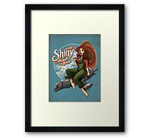 Kaylee's Aircraft Repair Framed Print