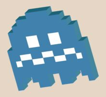 Blue Ghost - Pacman by techwiz