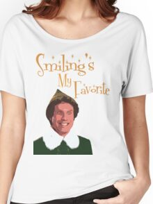 Buddy The Elf - Smiling's My Favorite Women's Relaxed Fit T-Shirt