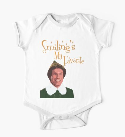 Buddy The Elf - Smiling's My Favorite One Piece - Short Sleeve