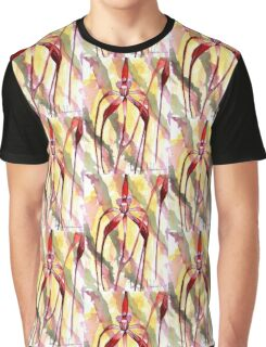 Crimson Spider Orchid Graphic T-Shirt