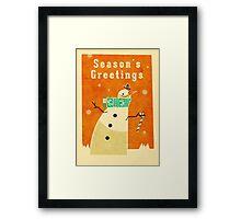 Snowman 1 Framed Print