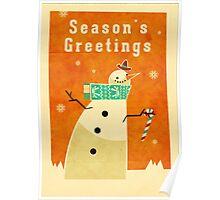 Snowman 1 Poster