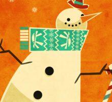 Snowman 1 Sticker