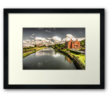 The River Orwell at Ipswich  Framed Print