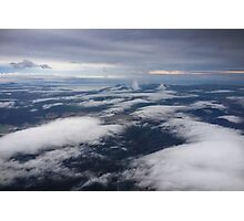 Up in the Clouds - Coolongolook Photographic Print