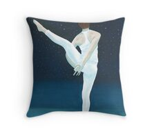 Yoga Stars Throw Pillow