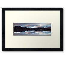 Lake Aviemore - NZ Framed Print