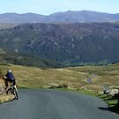 Downward - Honister Pass by Marilyn Harris