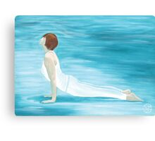 Yoga Water Canvas Print