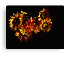 artificial flowers  Canvas Print