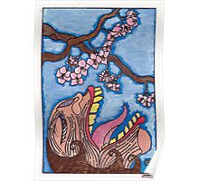 cherry blossom beauty Poster