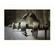 Fontenay Abbey (the forge) Art Print