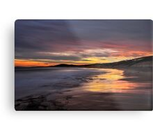Friday the 13th Sunset. Metal Print