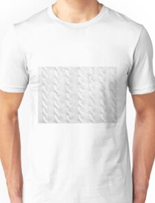 Cable Knit Pattern Unisex T-Shirt