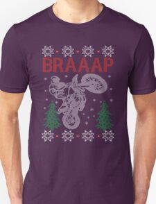 Motocross Braaap Christmas T-Shirt