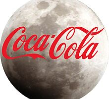 coca cola moon by VioletJigsaw
