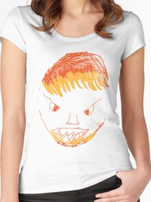 Angry Man Women's Fitted Scoop T-Shirt