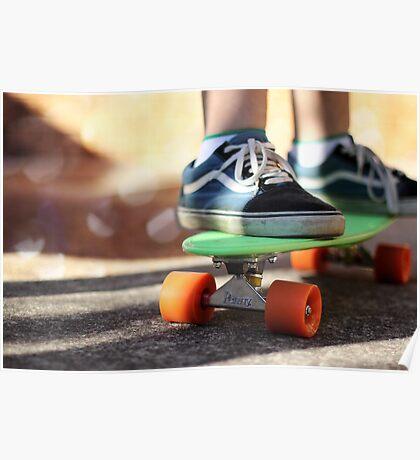 Penny Skater Poster