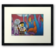 Andy Brickhol Framed Print