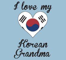 I Love My Korean Grandma Kids Tee