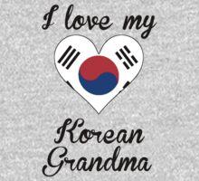 I Love My Korean Grandma One Piece - Short Sleeve