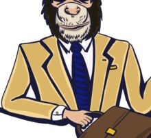 Monkey Business. Sticker