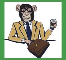 Monkey Business. Kids Tee