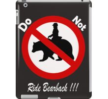 Don't do it!!!!...its bad for your health iPad Case/Skin