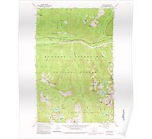 USGS Topo Map Washington State WA Scenic 243595 1965 24000 Poster
