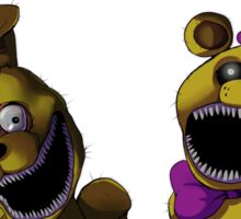 FNAF 4 - Fun with Plushtrap Sticker