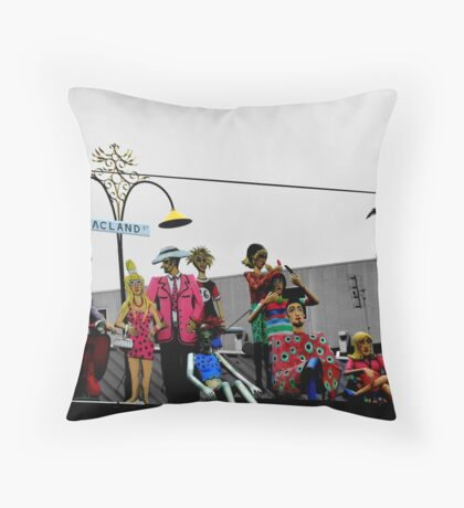 Acland Characters Throw Pillow