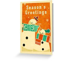 Snowman 5 Greeting Card