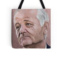 Bill Murray digital Portrait Tote Bag