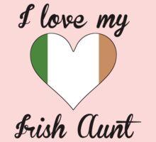 I Love My Irish Aunt One Piece - Long Sleeve