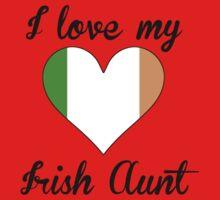 I Love My Irish Aunt Kids Tee
