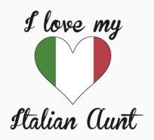 I Love My Italian Aunt One Piece - Long Sleeve