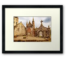 Delgatie Castle Folly (near Turriff, in Aberdeenshire, Scotland) Framed Print