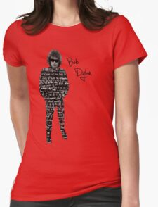 Bob Dylan Womens Fitted T-Shirt
