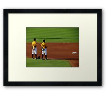 An Evening At The Game ~ Part Four Framed Print