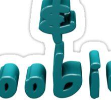 Doobies & Boobies. Sticker